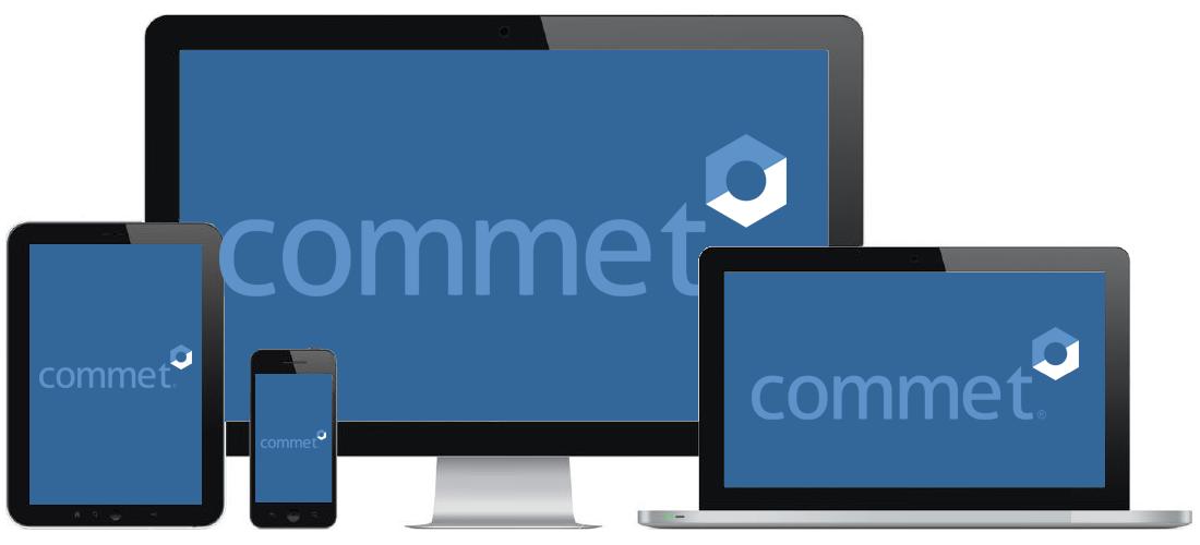 Software GMAO commet en PC, portatil, tablet y movil