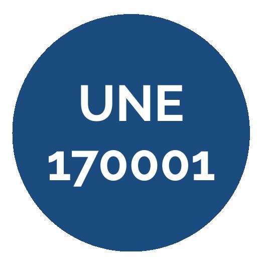 UNE 170001